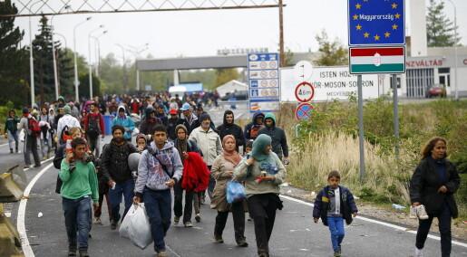 Europeere vil ha en mer rettferdig fordeling av asylsøkere
