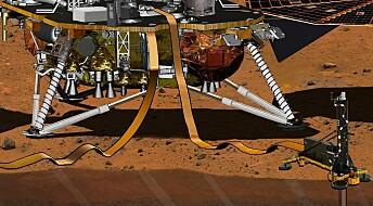 Romsonden Insight på Mars:Vitenskap på gamlemåten