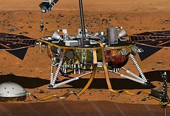 Hør lyden av Mars-vind