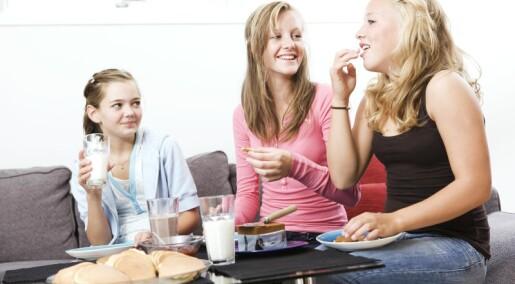 Hva betyr mest for ungdommenes kosthold?