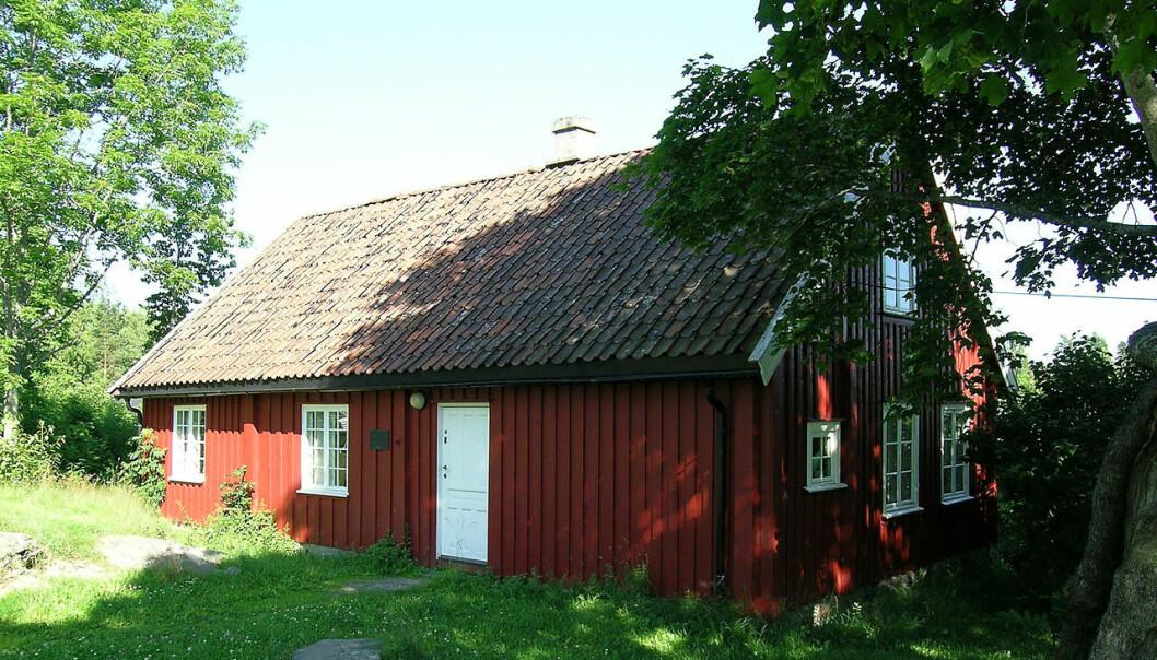 De fargerike brødrene vokste opp i Wesselstua i Vestby, som står der den dag i dag. (Foto: Wikimedia Commons)