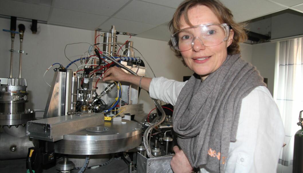 Unni Olsbye hadde ikke egentlig tenkt å bli kjemiker, men ble likevel en prisbelønnet profesor. (Foto: Gunhild M. Haugnes, UiO)