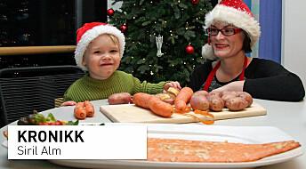 Lær barna å lage fisk til jul