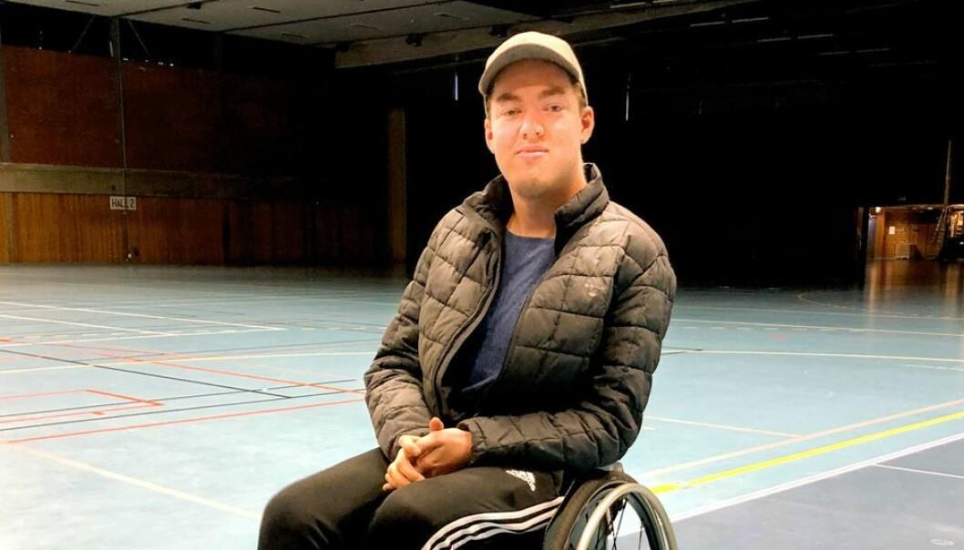 Eivind Åsheim, håndballtrener og NIH student. (Foto: NIH)