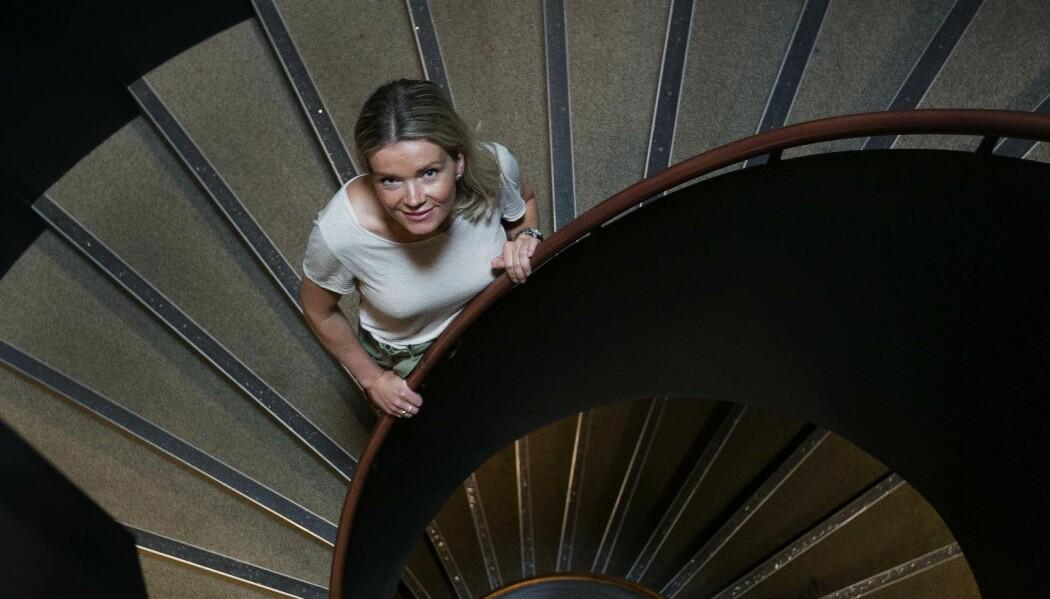 Maria Krogseth begynte å interessere seg for tilstanden som kalles delirium allerede som 18-åring da hun jobbet på pleiehjem. Nå vil hun prøve å finne ut hva som skjer når eldre blir rammet av denne forvirringen. (Foto: Martin Lundsvoll)