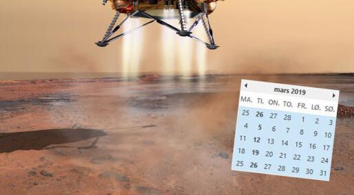 Hvorfor uttaler vi Mars og mars forskjellig?