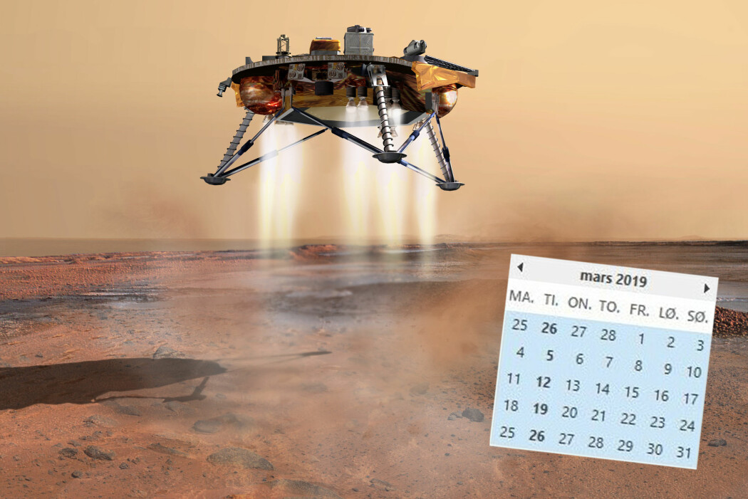 Hvorfor har planeten lang a-lyd mens måneden har kort? (Illustrasjon: NASA/JPL-Calech/University of Arizona. Montasje: forskning.no)