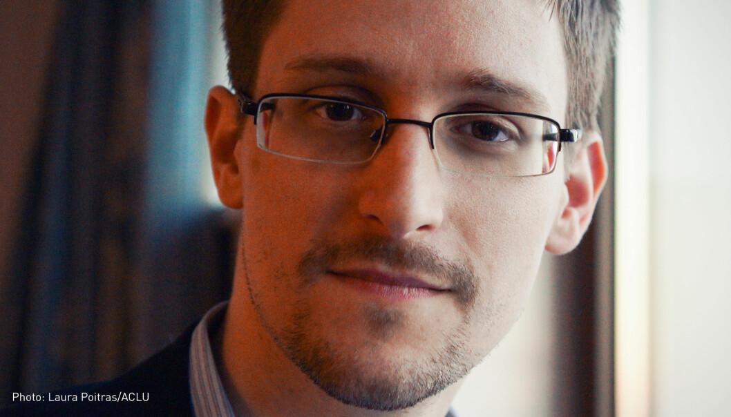 Edward Snowden er en av foredragsholderne på den nye vitenskapsfestivalen. (Foto: Laura Poitras / ACLU)