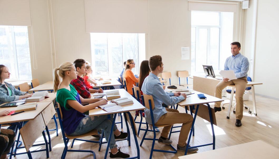 Læreryrket er blant de yrkene der innvandrere opplever minst diskriminering. (Foto: Shutterstock / NTB Scanpix)