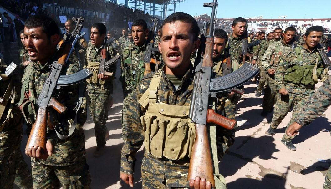 Analysen har ikke tatt hensyn til borgerkriger, som den snart åtte år lange borgerkrigen i Syria. (Foto: Aboud Hamam, Reuters, NTB scanpix)
