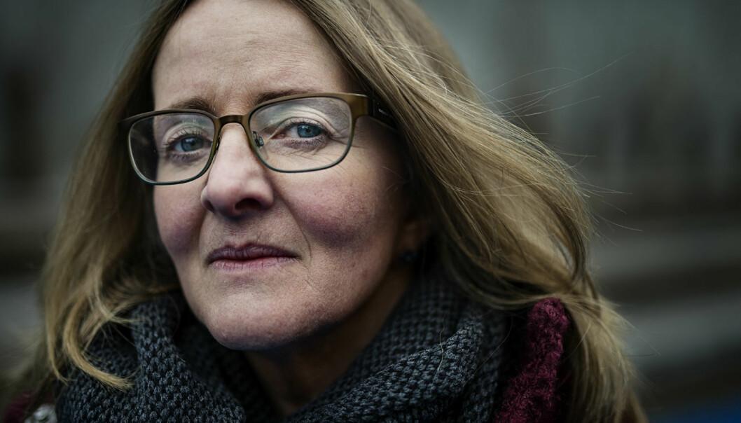 Anne Birgitta Nilsen er språkforsker ved Høgskolen i Oslo og Akershus. I denne podcasten nøster hun opp i flere begreper som stadig vekk dukker opp i media. (Foto: Benjamin A. Ward)