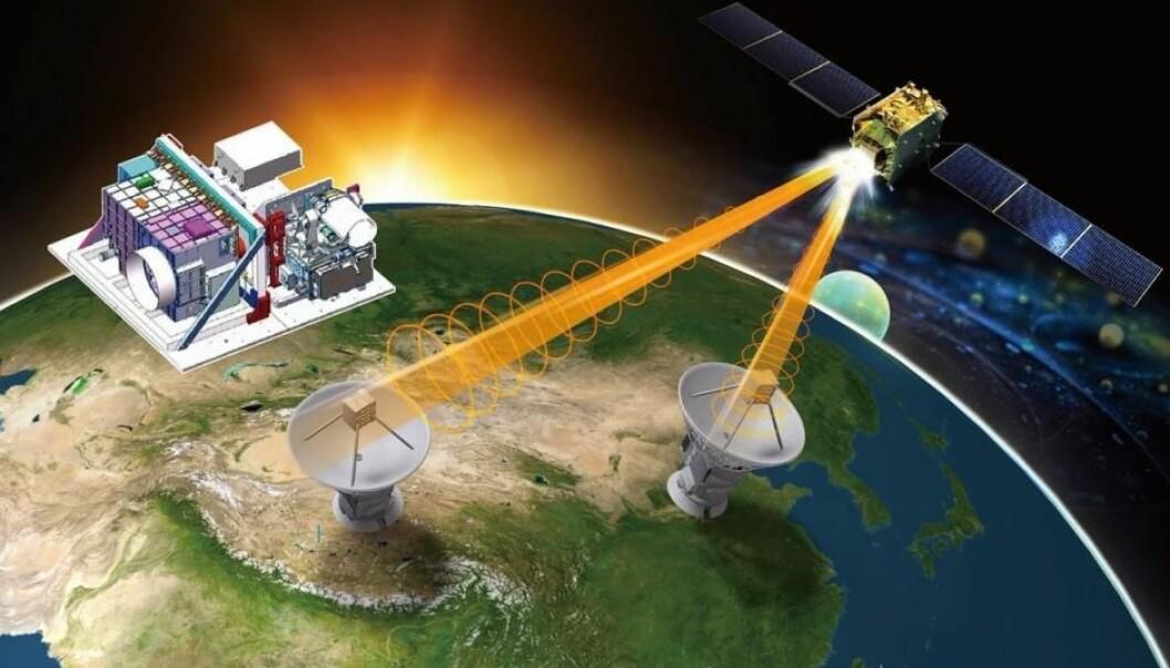 Satellitt knuser kvante-rekord og baner vei for hackerfritt internett