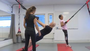 Folk over 70 år med muskelsvinn hadde god effekt av styrketrening