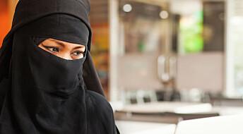 Forsker spår flere forbud mot ansiktsdekkende plagg