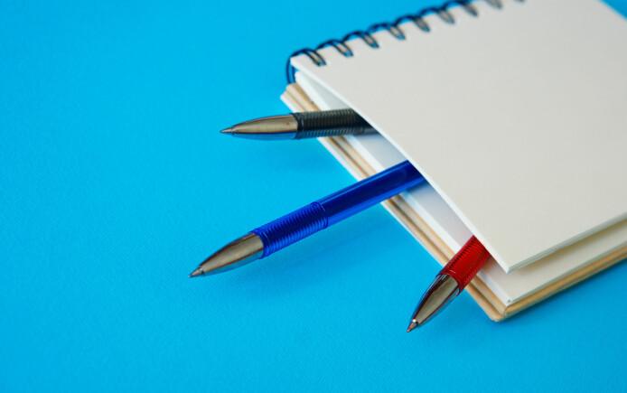 Ny jobb, nye penner