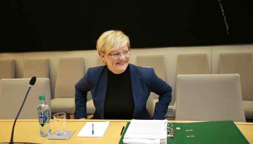 Tirsdag legger leder Kristin Halvorsen og resten av Bioteknologirådet fram sine anbefalinger til en ny lov om genteknologi. (Foto: Lise Åserud / NTB scanpix)