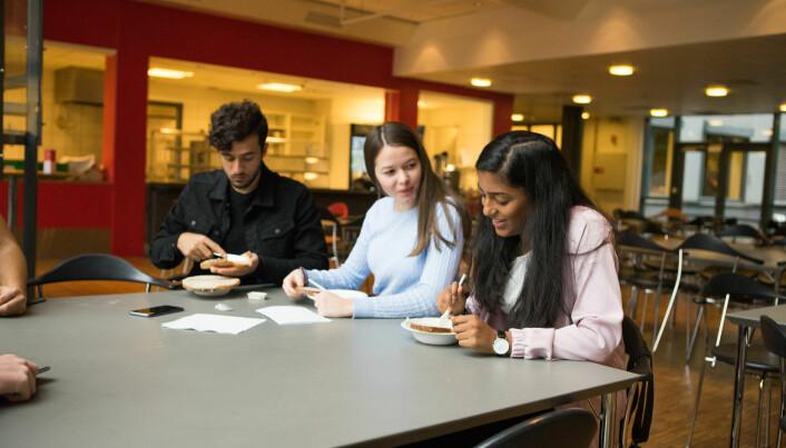 Skoleelever savner sunnere kantinemat