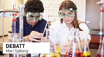 Er naturvitenskapelige praksiser og tenkemåter et mål eller en metode i den nye læreplanen?