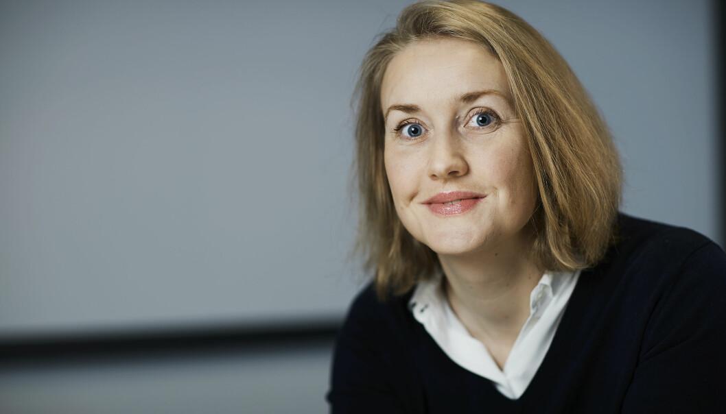 Marie Rognes forsker på væsken i hjernen vår. (Foto: Bård Gudim)