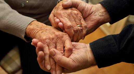 Forskeren forteller: Ikke glem kjærligheten i demensomsorgen