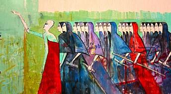 Tagging og gatekunst forteller om opprøret i Egypt