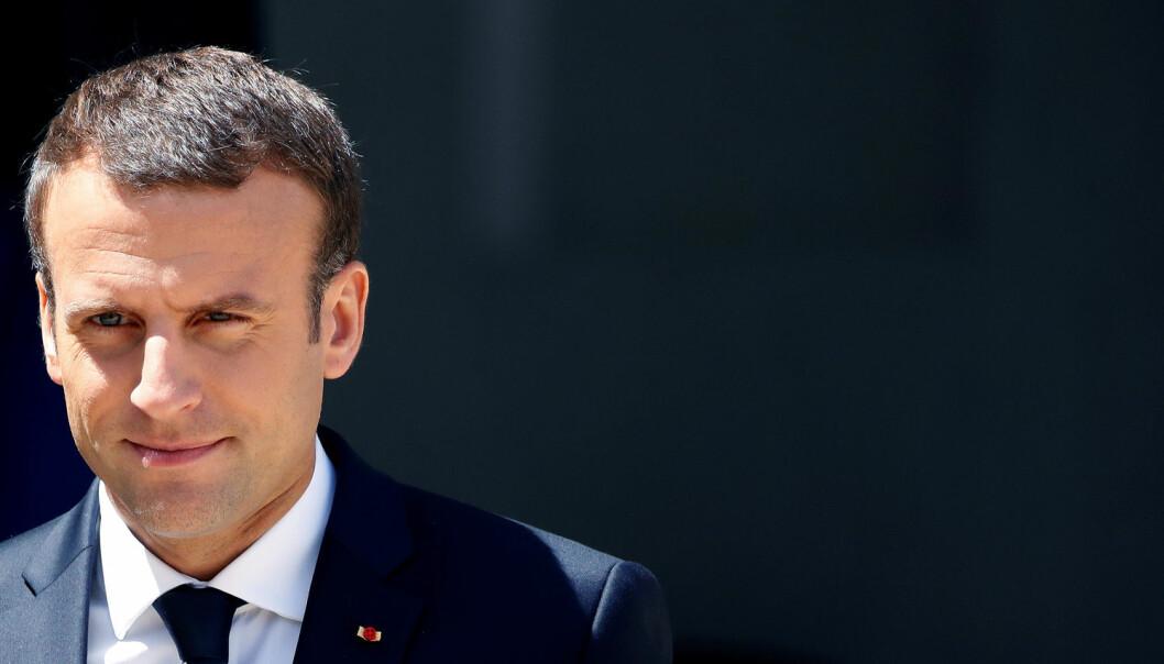 Frankrikes nyvalgte president, Emmanuel Macron vil trolig jobbe for å gjenreise landets internasjonale rolle, tror NUPI-forsker. (Foto: Christian Hartmann / Reuters)
