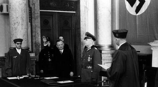 Nazister skånet lesbiske i retten