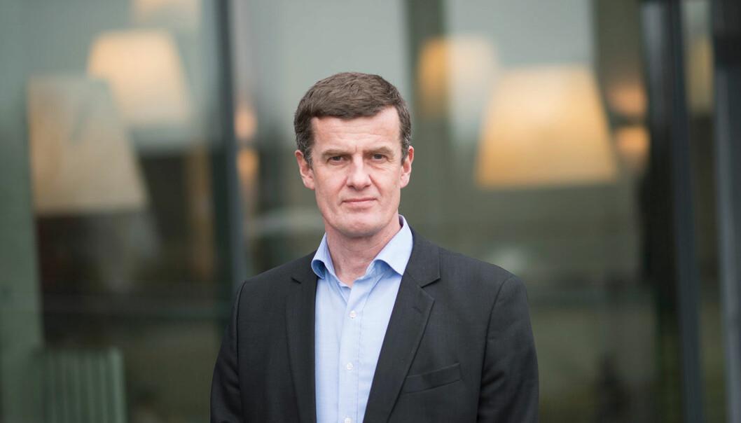 Klaus Mohn blir rektor ved UiS fra 1. august 2019. (Foto: Asbjørn Jensen / UiS)