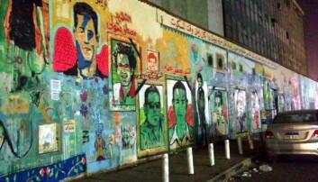 På denne veggen malte gatekunstnere bilder av unge menn som døde i sammenstøt med politiet. (Foto: alja|ja/ flickr).