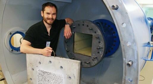 Eksplosjonstest åpner for flytende tunneler