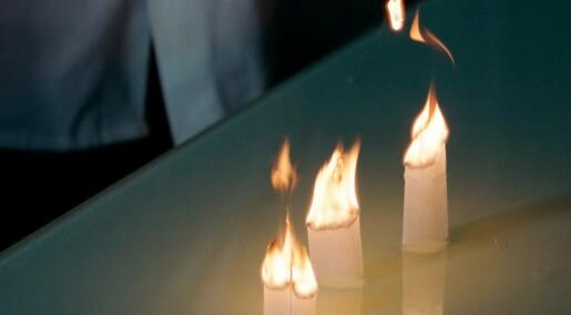 9. desember: Tomme teposer kan bli til ildfluer!