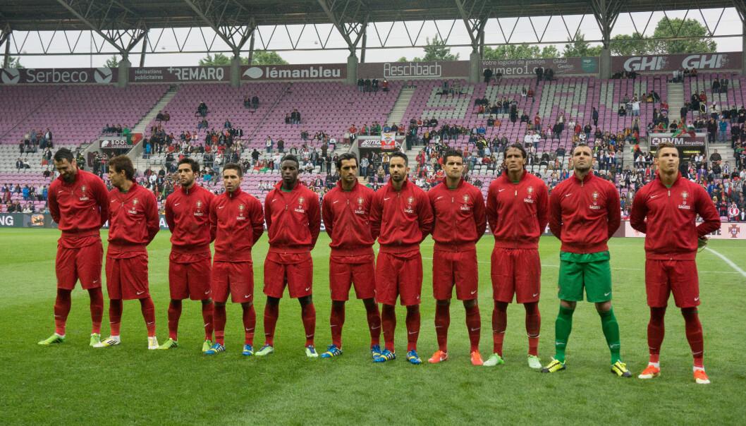 Portugal har vel 10 millioner innbyggere, noe som er ganske lite i forhold til for eksempel Spania (46 millioner), Italia (60 millioner) eller Tyskland (81 millioner). Så hvorfor er portugiserne så gode i fotball?  (Foto: Wikimediacommons/CC BY-SA 3.0)
