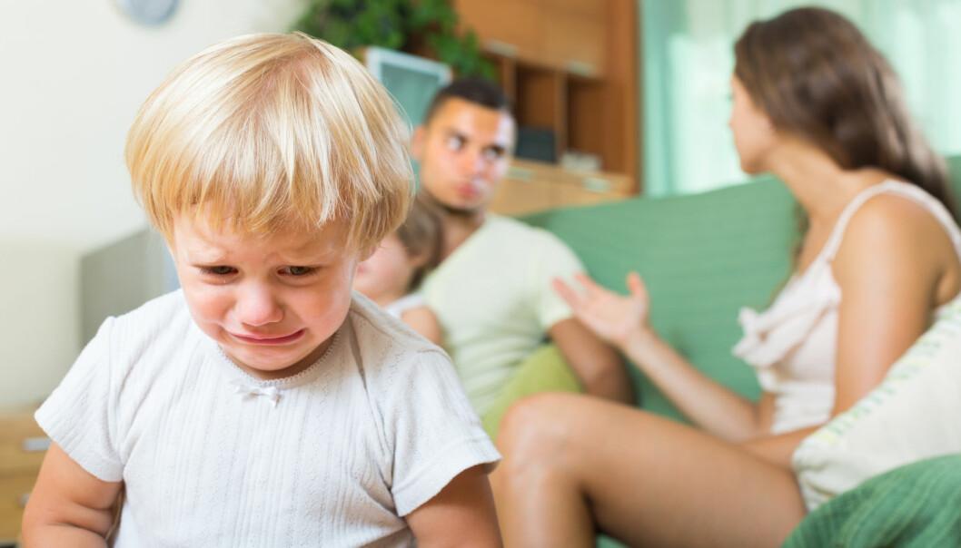 Kan stress i kjølvannet av en skilsmisse gjøre oss mer mottagelige for sykdom? (Illustrasjonsfoto: Filimonov / Shutterstock / NTB scanpix)