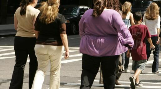 Hvert tredje menneske er overvektig