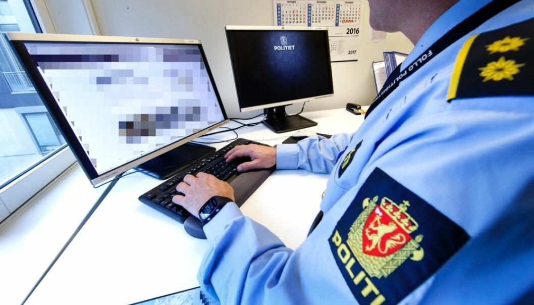 Det fins noen spisse miljøer på datakriminalitet i PST og Kripos, men dette er den nye hverdagen for alle politifolk. Det er derfor behov for å lære mer om datakriminalitet og internasjonalt samarbeid allerede i politiutdanningen, mener professor ved Politihøgskolen.  (Foto: Gorm Kallestad/NTB scanpix)