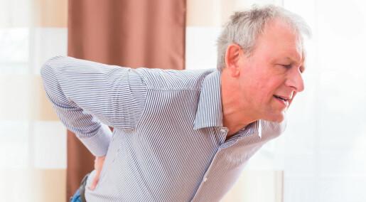 Betennelsesdempende midler hjelper lite mot ryggsmerter