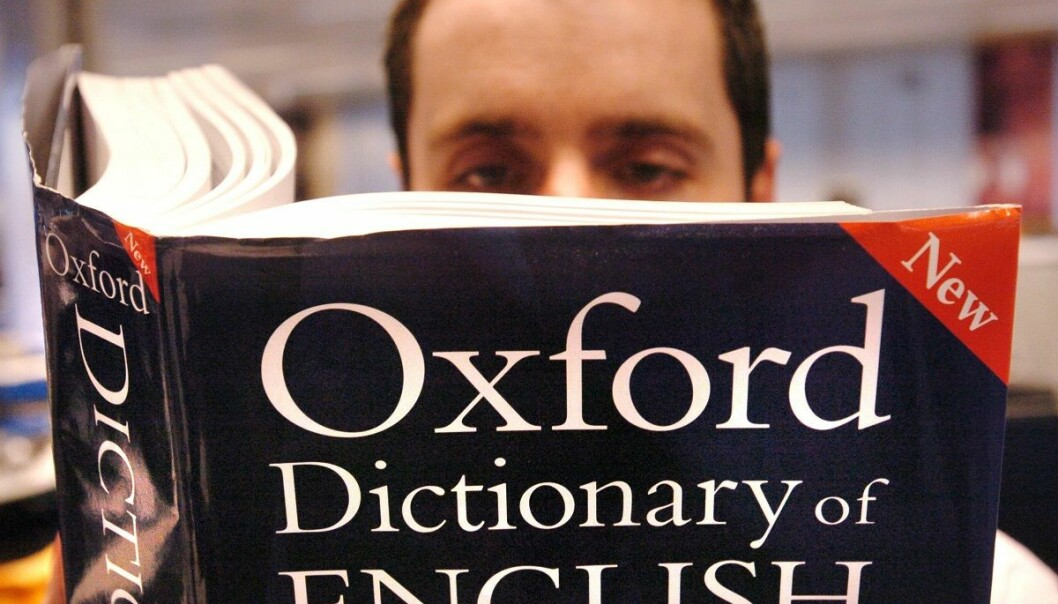 Falsk mestringsfølelse i engelsk