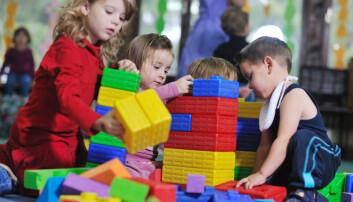 Menn i barnehage gir flinkere skolebarn