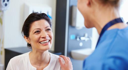 - Mange flere kvinner kan trygt bruke hormontilskudd
