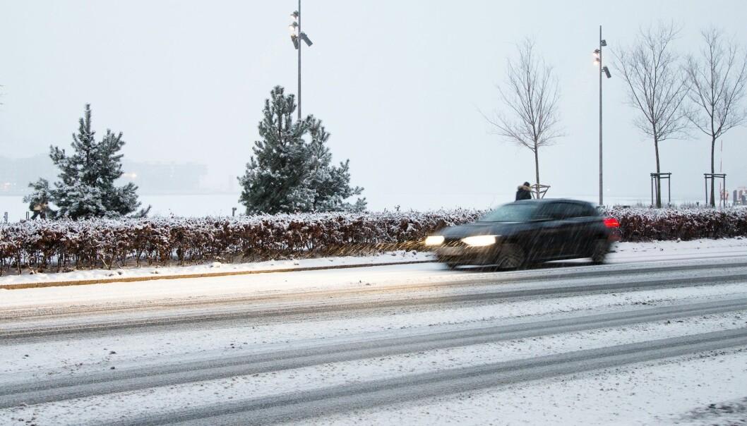 Det er størst nedgang fra veitrafikk og annen transport. (Illustrasjonsfoto: Audun Braastad / NTB scanpix)