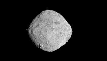 Asteroiden Bennu har trolig hatt vann