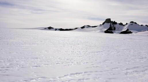 NASA har oppdaget smelting i nye deler av Antarktis
