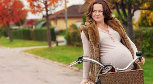 Hvorfor slutter gravide å sykle til jobben?