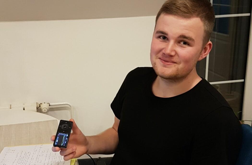 Diabetespasient Hans-Henrik Hamrebø er positiv til mer direkte deling av helsedata og tror det kan hjelpe pasienter. (Foto: Privat)