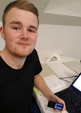Hans-Henrik Hamrebø håper deling av helsedata kan kutte ned på antall legebesøk. (Foto: Privat)