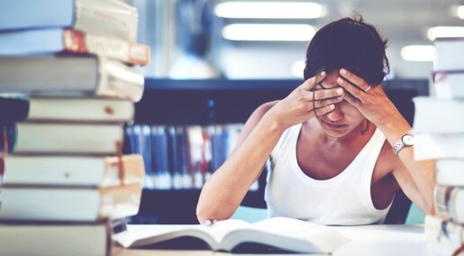 Én av tre studenter lider av søvnproblemer
