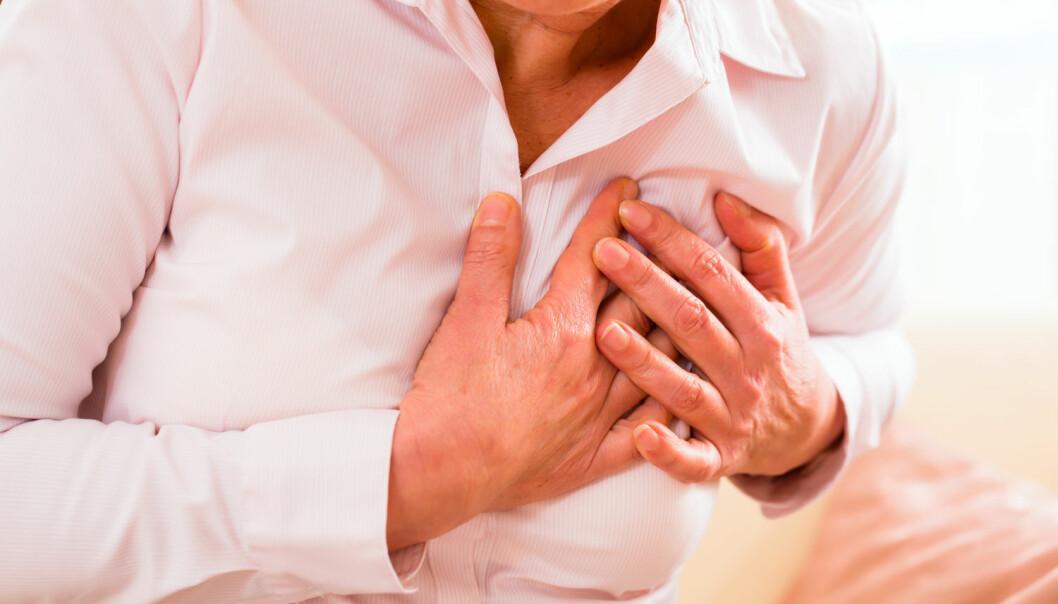 Hvis du får et hjerteinfarkt, utløser det vanligvis en betennelsesreaksjon i kroppen. Reaksjonen er nødvendig for at du skal bli frisk igjen, men er ofte større enn nødvendig. (Foto: Kzenon/Shutterstock/NTB scanpix)