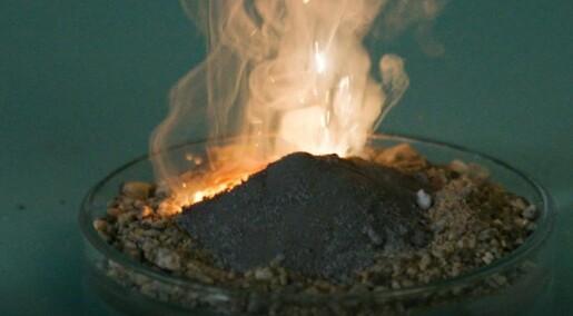 16. desember: Hva med å lage en liten vulkan?