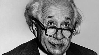 Viste at Einstein tok feil – ved å bevise at han hadde rett