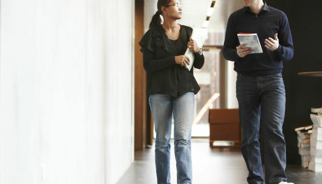 En ny studie viser at Ph.d-studenter mener at kritisk tenkning er det viktigste i doktorgradsarbeidet. (Illustrasjonsfoto: Colourbox)